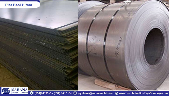 Suplier Plat Besi Hitam Hot Rolled Steel Murah Surabaya