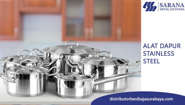 ALAT DAPUR STAINLESS STEEL